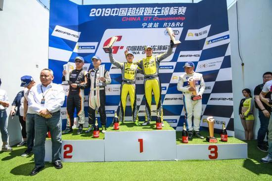 2019 China GT第三回合GT4组颁奖