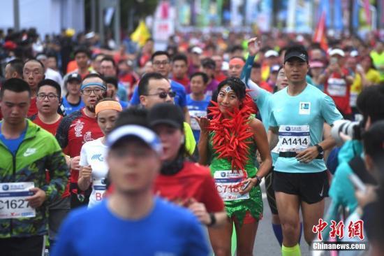 """2019广州马拉松赛(下称""""广马"""")被公布为国际田联金标赛事"""