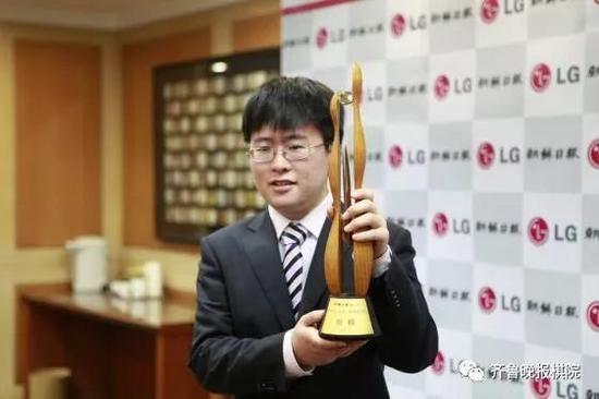 江维杰LG杯夺冠