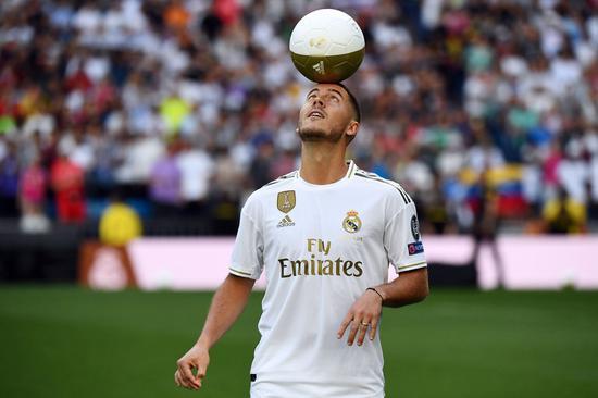阿扎尔将是皇马新赛季的核心。