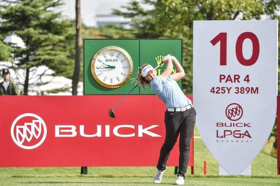 布鲁克·亨德森在2018别克LPGA锦标赛