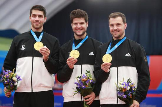 乒乓球欧锦赛开赛在即德国罗马尼亚力争卫冕