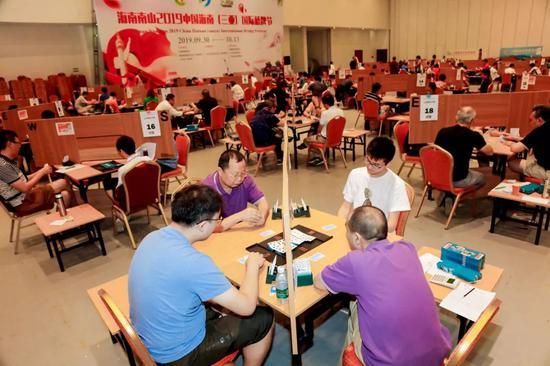 海南南山2019中国海南(三亚)国际桥牌节开赛