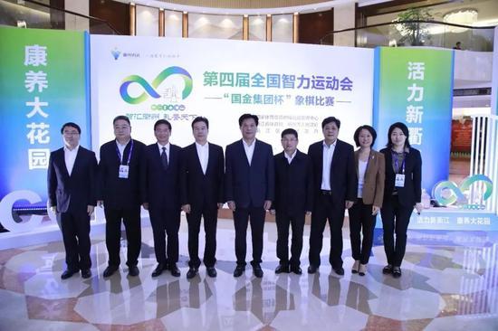 国家体育总局副局长李建明一行视察智运会象棋赛