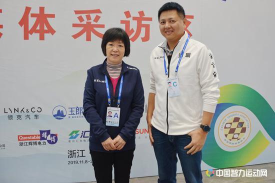 刘适兰:智运会锻炼意志 以棋牌力量践行社会责任