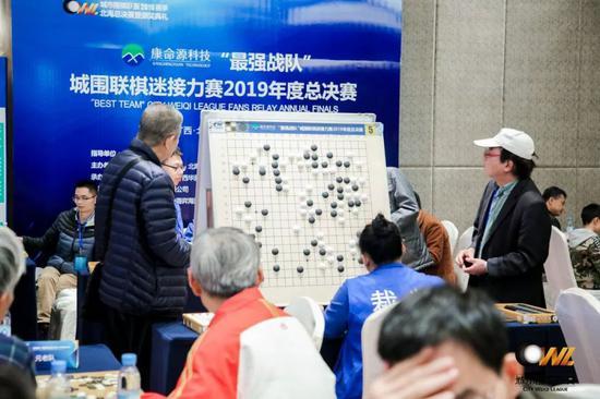 城围联的特别队伍 棋迷接力赛来了一支诗仙队