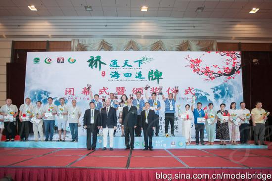标兵:2019年桥牌回顾(二) 中国首获男团世界冠军