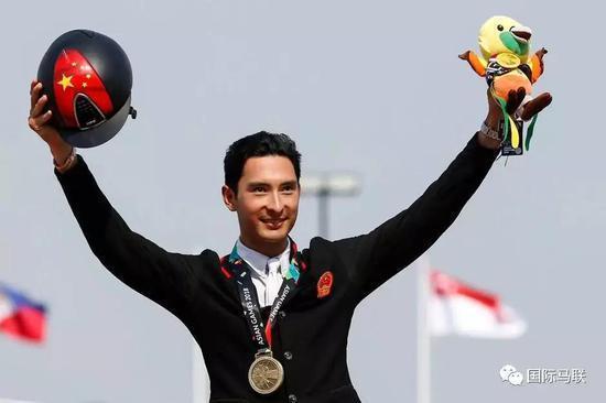 中国首位通过东京奥运三项赛MER线的骑手华天:我不认为自己是领军人物
