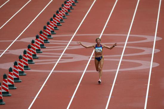 君士坦丁娜·迪塔(Constantina Dita)在北京奥运会()?版权所有