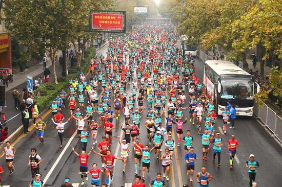浙江马拉松大数据出炉 下半年平均每个周末超3场