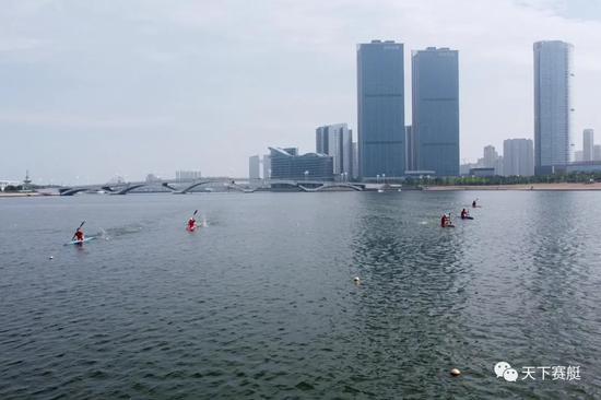 奥运模拟赛小艇比赛告一段落 奥运冲金项目将登场