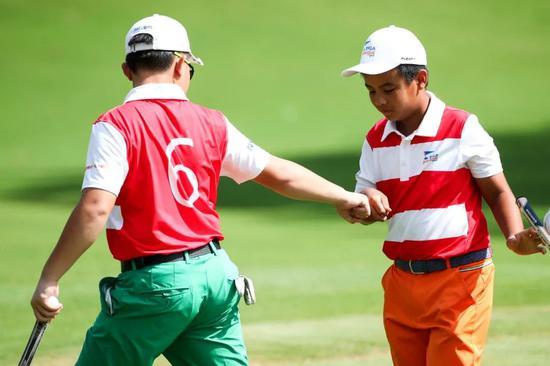 东莞塘厦全明星队赢PGA青少年联赛中国总决赛冠军