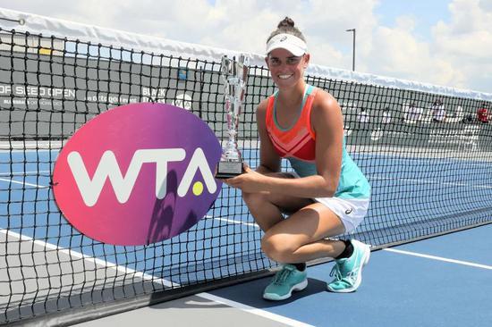 WTA排名〔¨升至〕:美国猛女首进前40≮排名≯