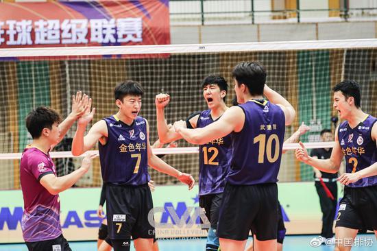 上海男排武弸智赛季自评90分 盼提高关键球成功率