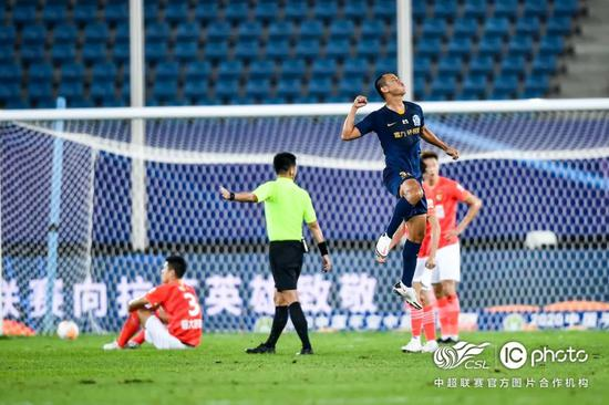 黄政宇:德比战进球但没赢很可惜 未来想为国征战