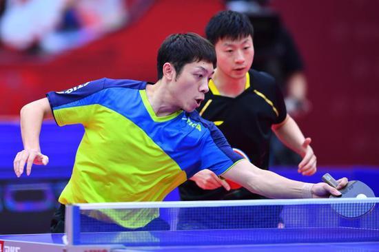 老搭档马龙/许昕仍有进步空间 确保东京奥运胜利