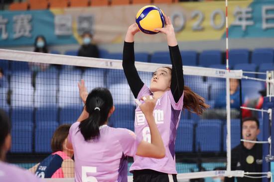 对抗赛山东女排双杀广东 较于胜负联赛练兵很重要