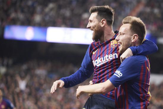 拉基蒂奇:梅西永远不知道在他身边踢球对我多重要