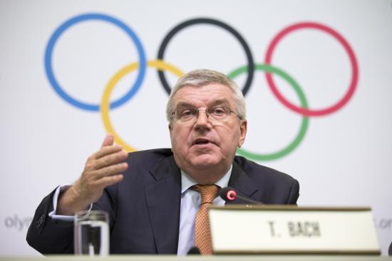 日媒:国际奥委会主席巴赫将于15日访问日本
