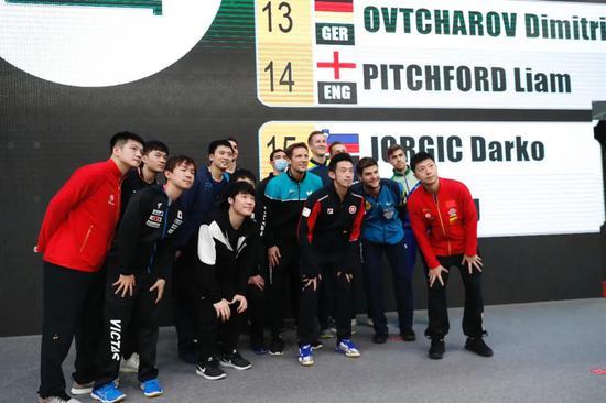 男子世界杯樊振东首战庄智渊 马龙半区抽中张本