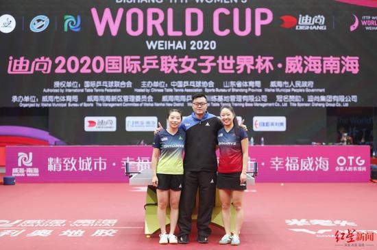 华裔女乒名将连续两年进世界杯八强 背后有神奇教练