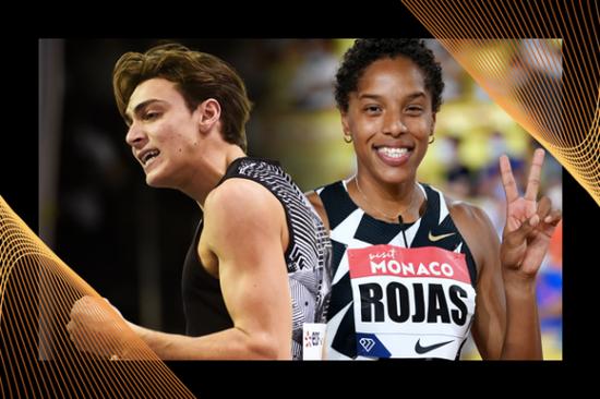 杜普兰蒂斯和罗哈斯当选田联年度最佳男女运动员