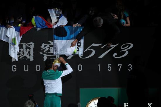 【博狗扑克】嘘声下证明自己 德约有一个梦:网球影响力第一人