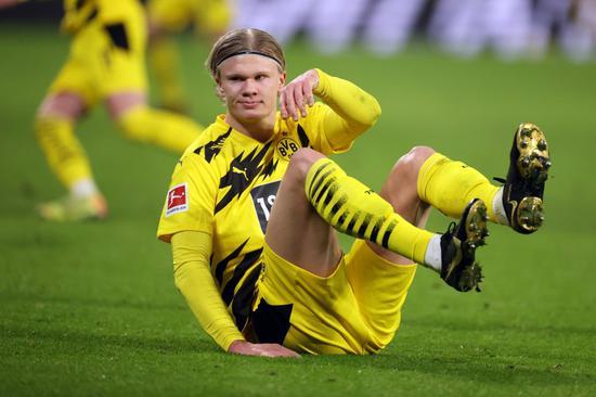 哈兰德近5场比赛0进球 本赛季欧冠首次未破门