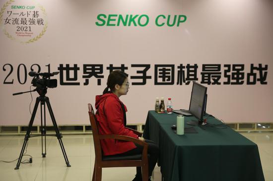 扇兴杯於之莹崔精晋级决赛 中韩女子第一人再争锋