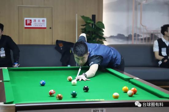 中式台球百城大战上海站半决赛 赵汝亮遇到郑宇伯