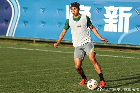 国安战武汉比利奇演练全新攻击组合 本土球员担重任