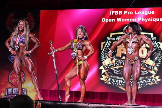 """""""金刚芭比""""卞瑞英:中国健体首位参加奥赛的女选手"""