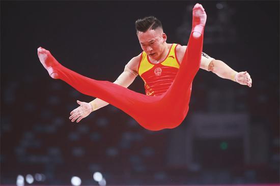 """肖若腾""""对标世界最佳""""不懈怠 肩伤对发挥仍有影响"""