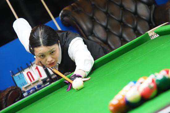 球龄才三年 她如何成为广东台球推广急先锋?