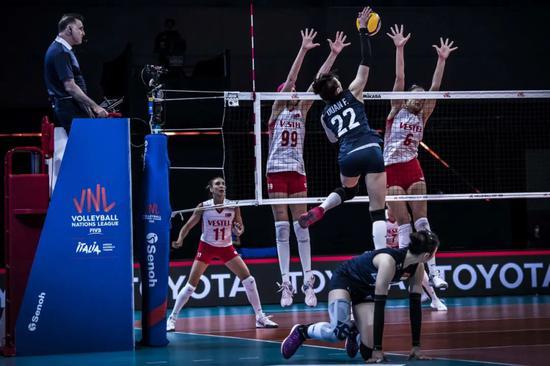 世联第三周女排再战奥运主要对手 难度和价值更大