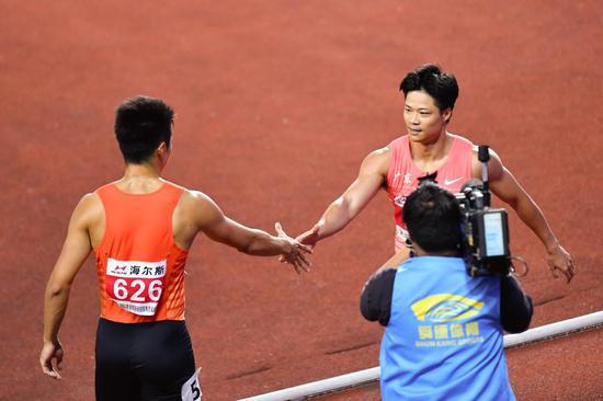 中日短跑将在东京奥运大决战 日本集团优势更明显