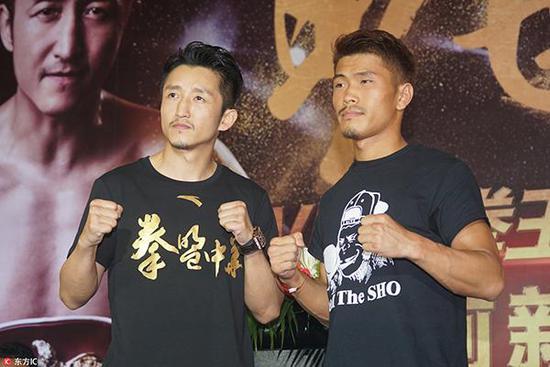 木村翔说他一直很感谢邹市明给了他机会。