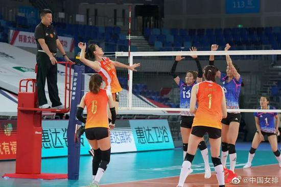 全国锦标赛3-1逆转北京 天津女排找回胜利节奏