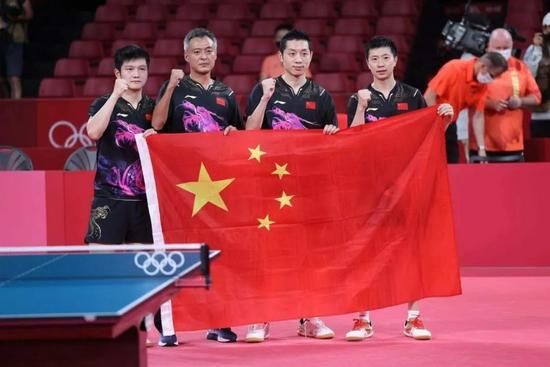 国乒男队畅谈奥运 樊振东逆转奥恰因为没压力
