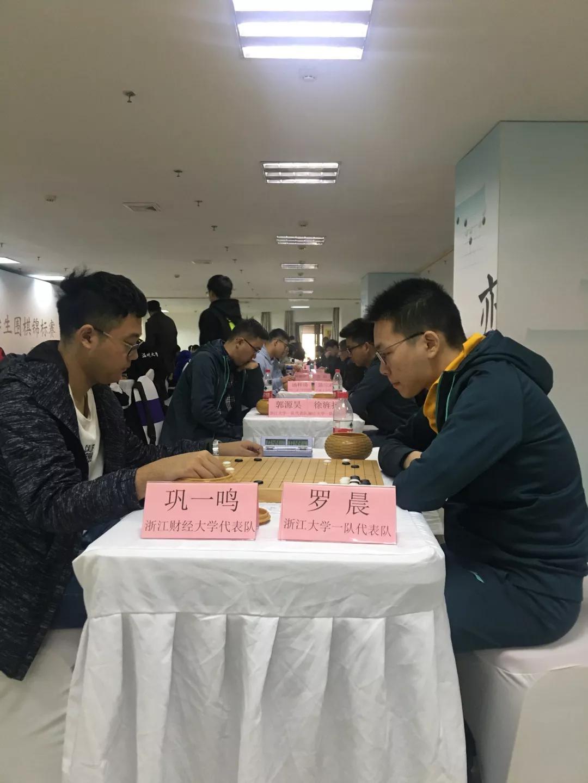 云林杯大学生围棋赛:浙大围棋队包揽团体冠军季军  第3张