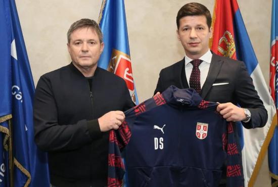 前广州城主帅斯托正式执教塞尔维亚国家队 签约3年