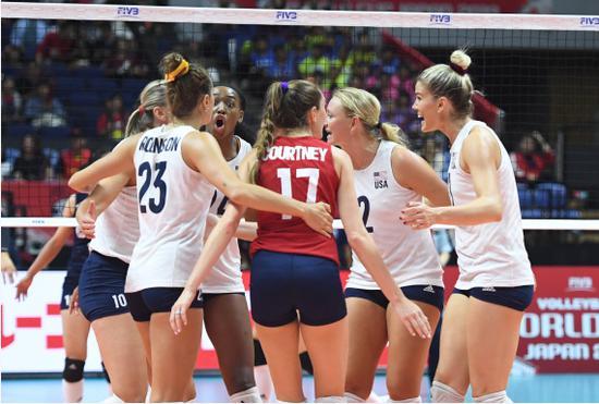 """女排职业联赛正式登陆美国 组队模式玩""""选秀"""""""