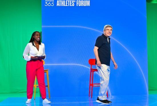 国际奥委会主席巴赫呼吁运动员:带着信心来东京
