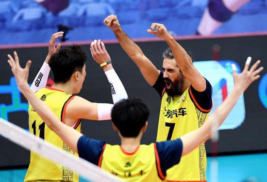 江苏男排主帅:本有机会冲击上海 赛季最好的一场