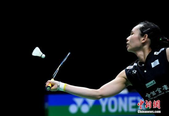 中国台北羽球选手戴资颖:调整心情 一切重新出发