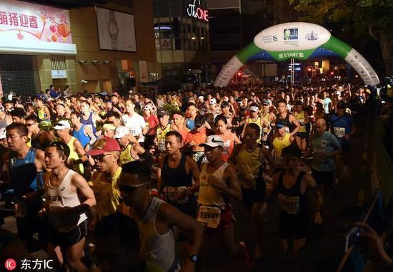 香港马拉松
