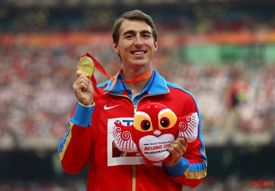 可与刘翔比肩之人药检呈阳性 惊动俄罗斯体育部长