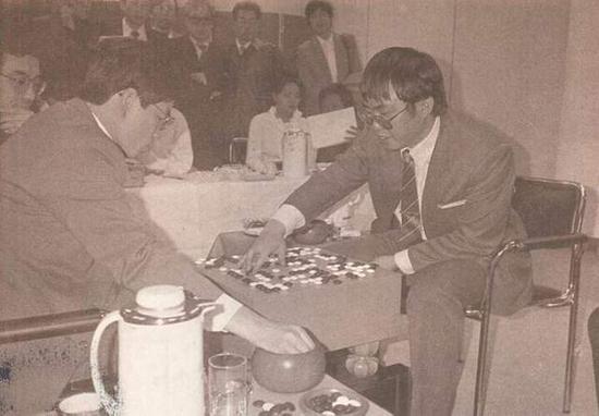第三届擂台赛决战 聂卫平胜加藤正夫