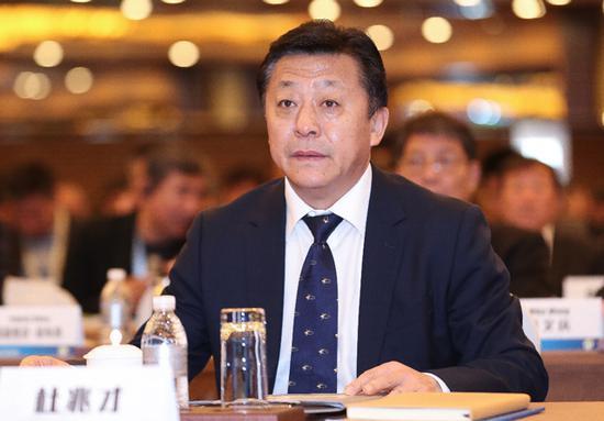 国家体育总局副局长、党组成员、中国足球协会党委书记杜兆才