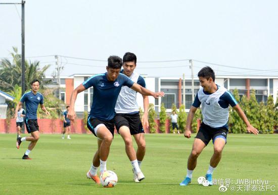 泰达结束海外拉练明日回津 教练组将安排两周假期